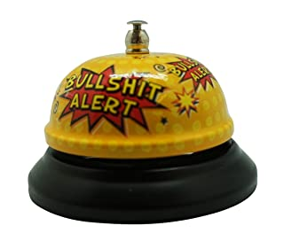 Bull-shit alert bell by Diabolical Gift People