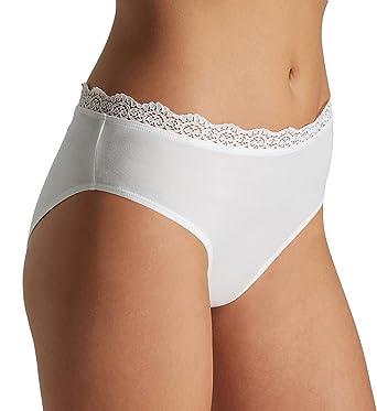 300fb9bbd63 HANRO Women's Maja Hi Cut Brief at Amazon Women's Clothing store: