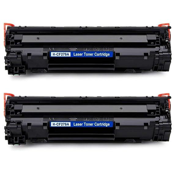 IKONG Compatible HP 79A CF279A Tóner, 2 Negros para HP ...