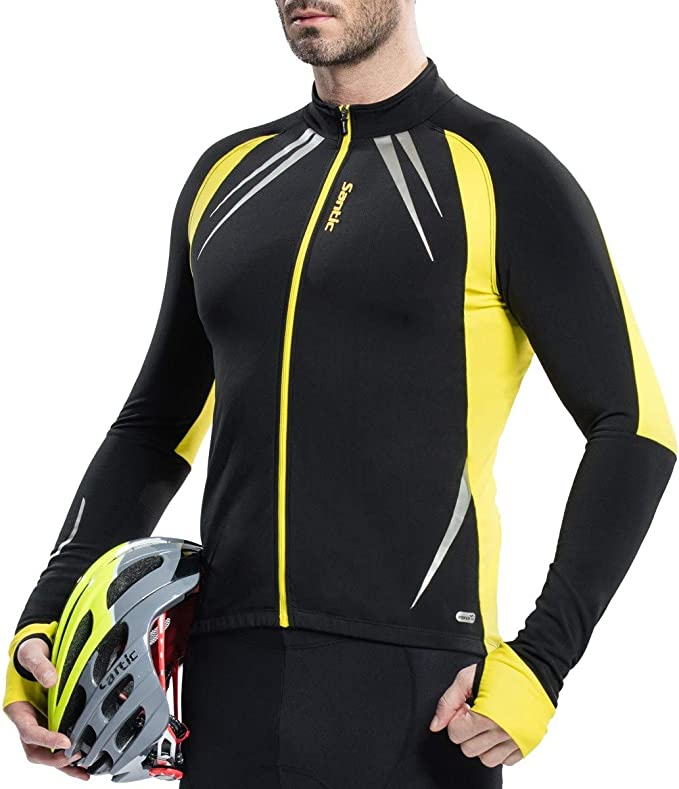 d.Stil Men/'s Cycling Jacket Winter Waterproof Wind Thermal Breathable Cycling Clothing