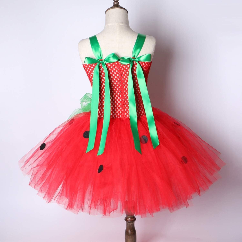 Disfraz de Fresa para Fiesta de cumpleaños de niños de 2 a 12 años ...