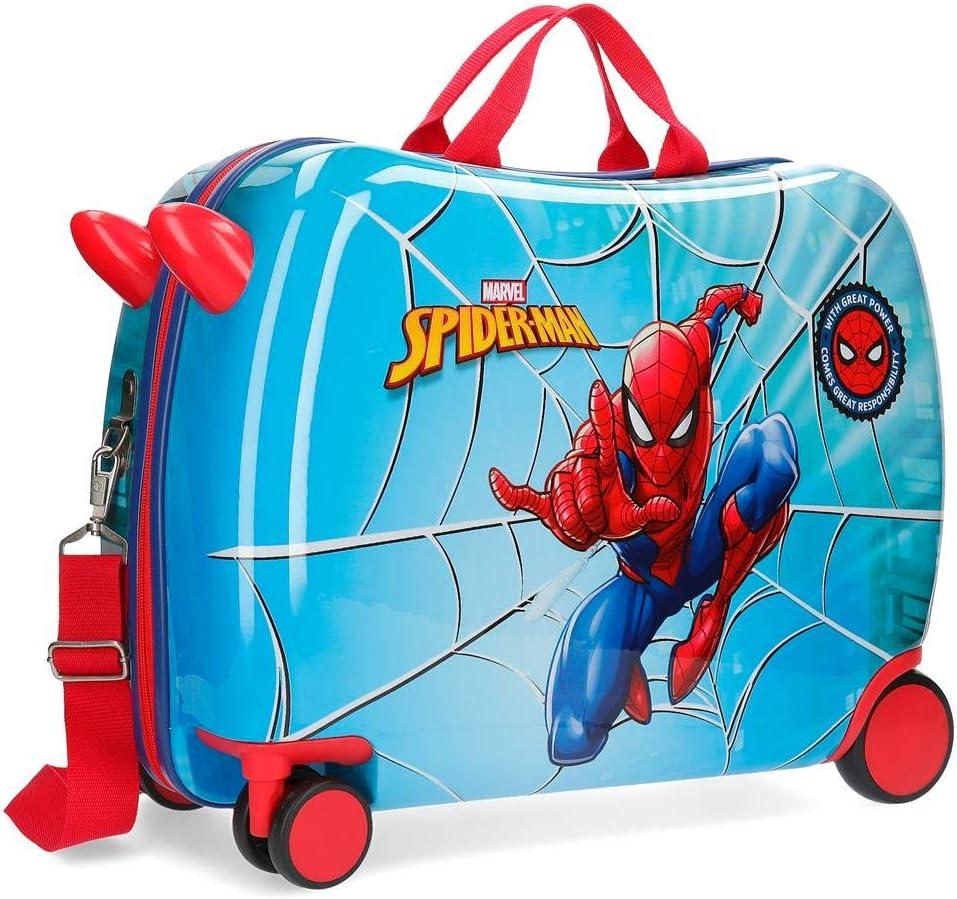 Maleta correpasillos con ruedas multidireccionales Spiderman Street