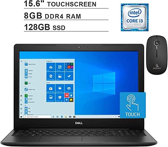 2020 Newest Dell Inspiron 15 3583 Touchscreen Laptop (Intel Core i3-8145U up to 3.9GHz