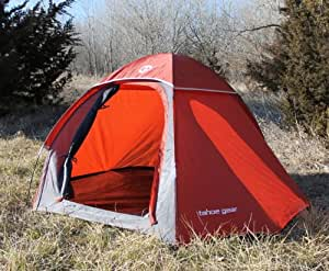 Tahoe Gear Hiker 2 Person 3-Season Portable Lightweight Backpacking Tent (7'x6')