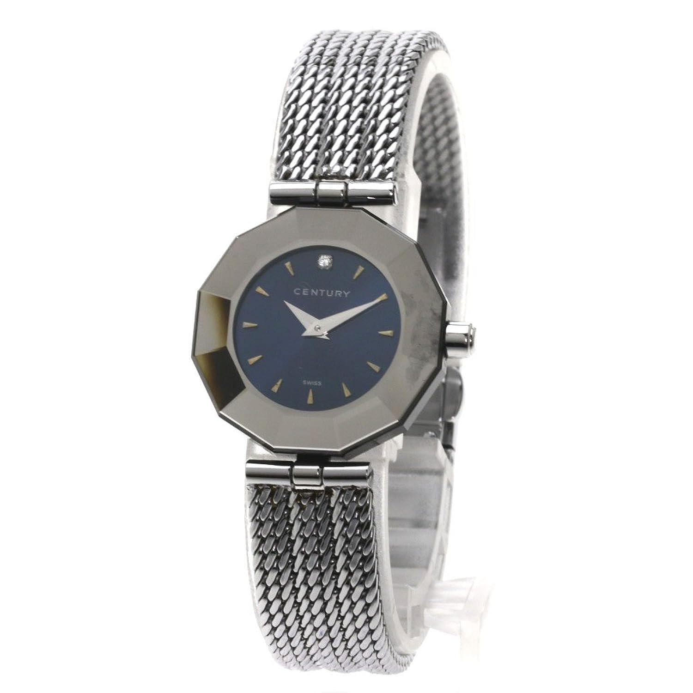[センチュリー]タイムジェム 腕時計 ステンレス/SS レディース (中古) B079ZQMRHB