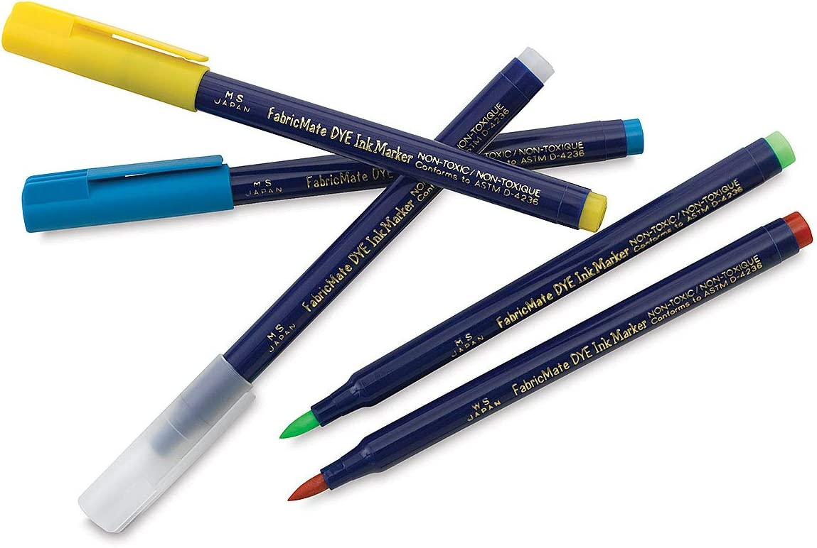 B0026XXH72 FabricMate Chisel Tip Fabric Marker, Blue 61HBCP6a17L