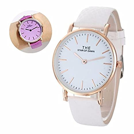 Joy Feel buy Mujer Relojes Mujer Fashion Classic Change Color Wirst Reloj Relojes Estilo Completo correa