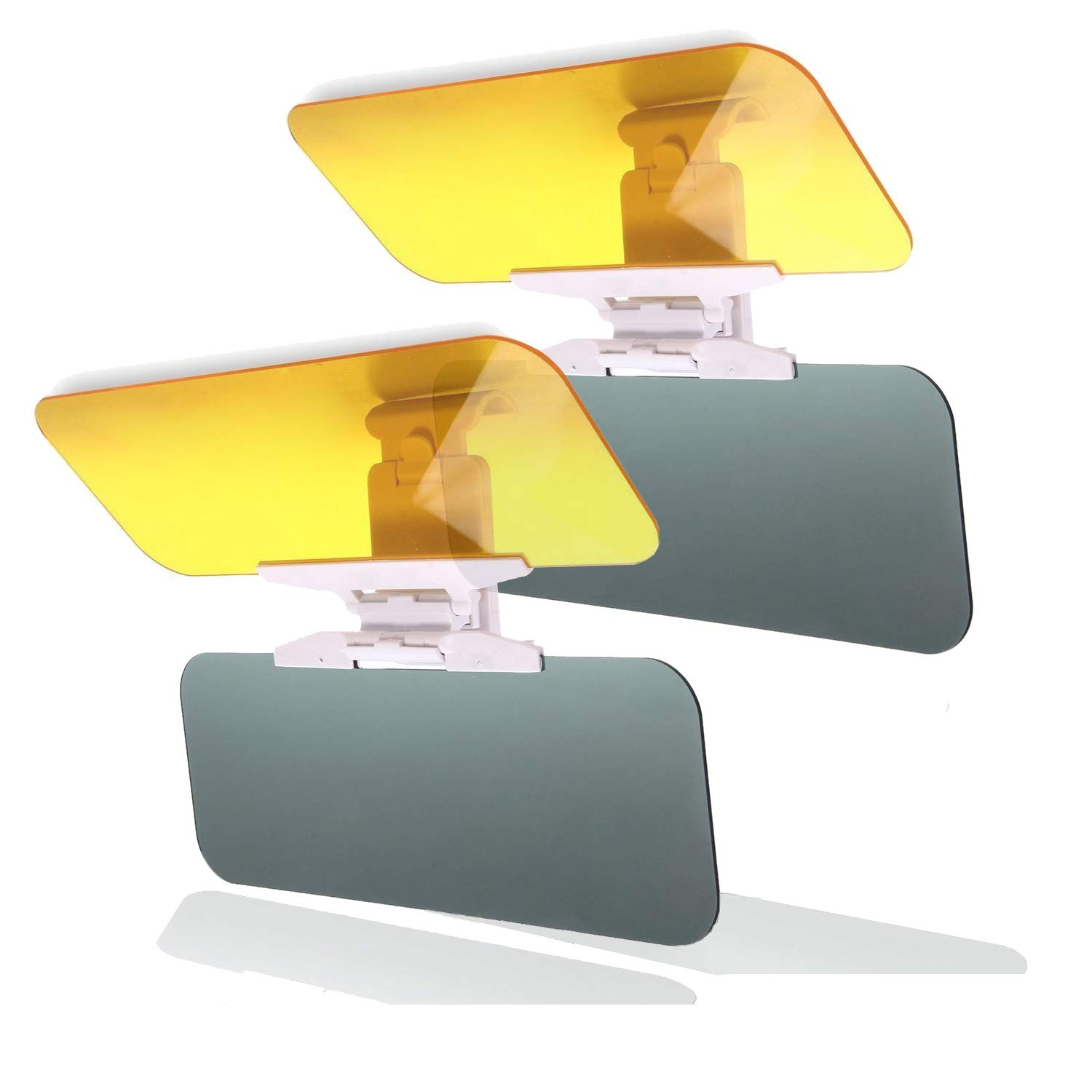 Goggles Shield Anti-Dazzle Windshield Day Night Anti-Glare Visor Sun Visor Extender SAILEAD 2 Pack Car Visor Extender Sun Blocker