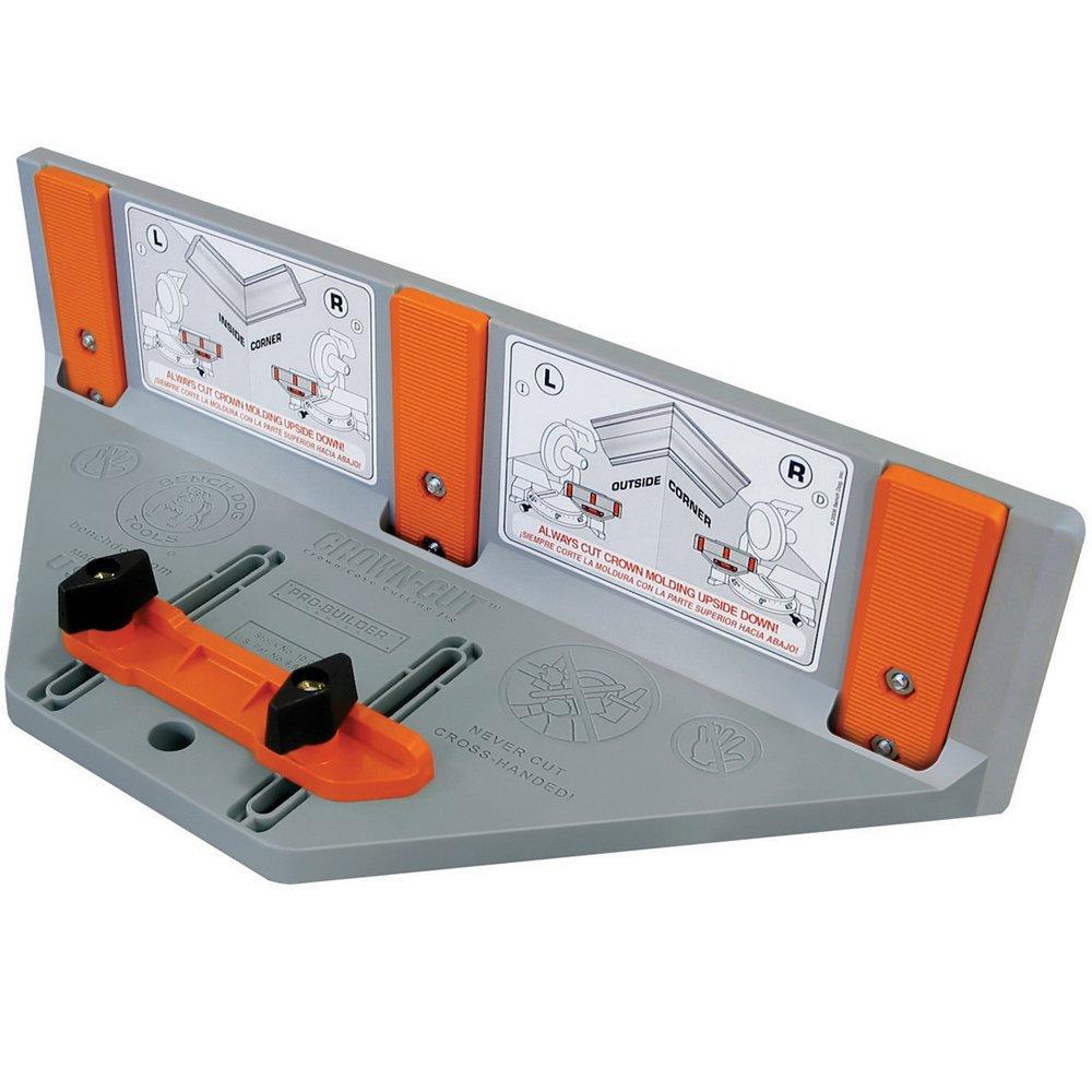 BenchDog Crown Cut Mitre Box for Ceiling Trim, 250 mm: Amazon.co.uk ...