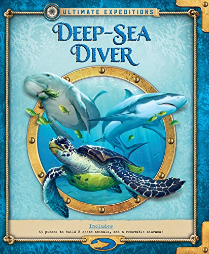 Ultimate Expeditions Deep-Sea Diver: Includes 63 pieces to build 8