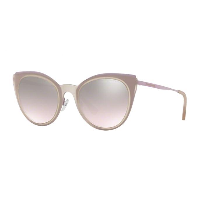 Emporio Armani 0EA2063, Gafas de Sol para Mujer, Matte Pink/Violet, 52