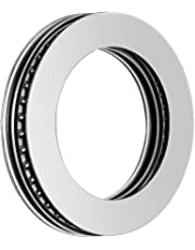 uxcell® AXK3552+2AS Needle Roller Thrust Bearings with Bearing Washers, 35mm Bore Diameter, 52mm OD, 4mm Total Thickness