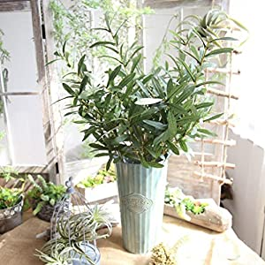 Artificial Flowers,Vibola® Fake plant Simulation Olive branch Fake Flowers (not include Vase) 33