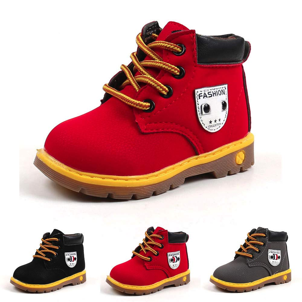 SMALLE ◕‿◕ Clearance,Baby Children Warm Boys Girls Martin Sneaker Boots Kids Baby Casual Shoes by SMALLE (Image #5)
