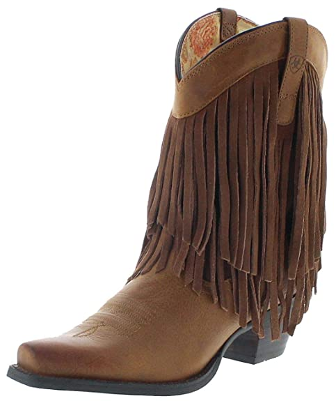 Ariat Damen Cowboy Stiefel 14102 Gold Rush