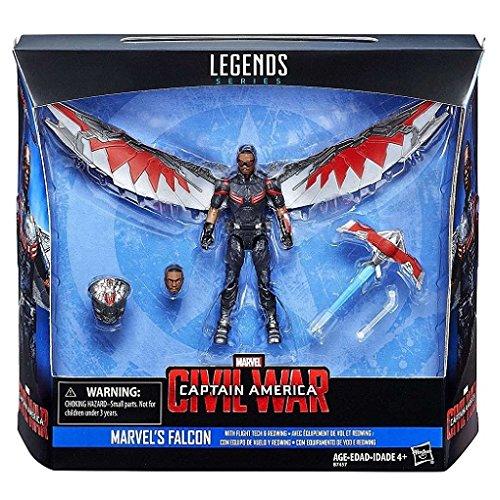 """Marvel Captain America Civil War Legends Series 3.75"""" Action Figure: Marvel's Falcon"""