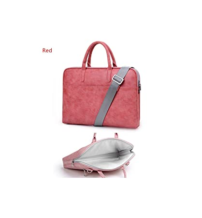 e2e7ec646cfe Image Unavailable. Image not available for. Color: Pu Leather Laptop Bags  for Women 14 15 15.6 17.3 Inch for MacBook for Air 13