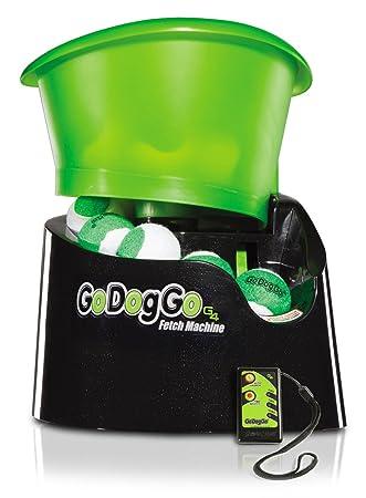 GoDogGo Versión G4 Fetch Bola automática lanzador de la ...