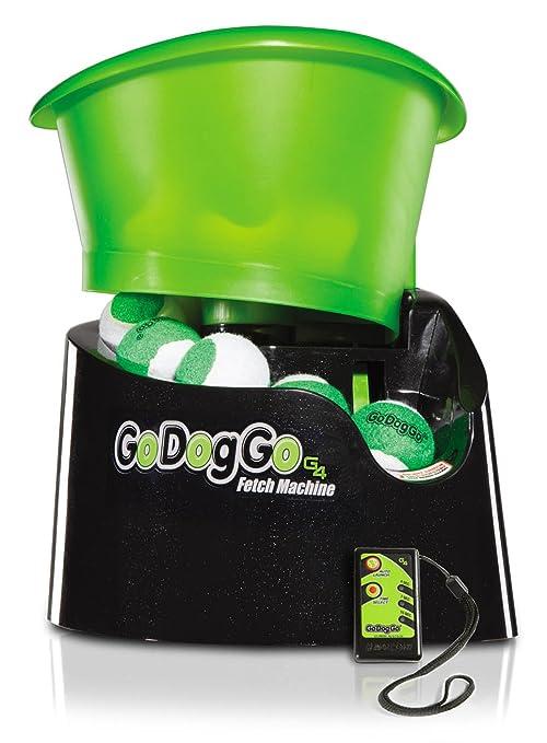 GoDogGo Versión G4 Fetch Bola automática lanzador de la máquina - Gimnasia Salud perro de juguete