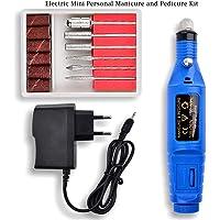 Lookathot 13-in-1 Electric Mini kit de manicura y pedicura personal El archivo de uñas incluye removedor de callo, tampón y pulidor de uñas
