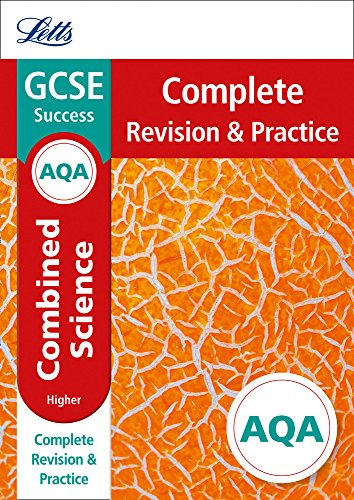 Letts GCSE Revision Success - New Curriculum – AQA GCSE Combined Science Higher Complete Revision & Practice (Letts