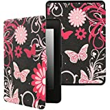 xhorizon SR Case for Kindle Paperwhite Thinnest and Lightest PU Leather Case with Magnetic Auto Sleep/Wake Function for All-New Amazon Kindle Paperwhite (Fits 2012, 2013, 2015 and 2016 Versions)