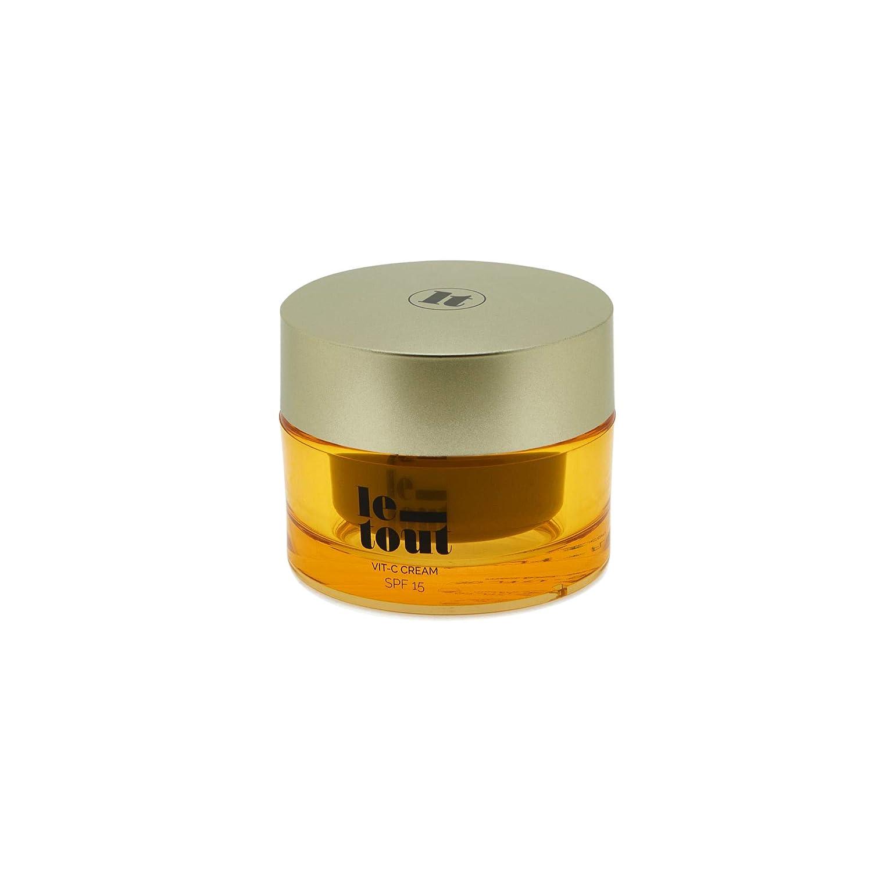 Le-Tout VIT-C Cream SPF 15, Crema revitalizante con protección solar: Amazon.es: Belleza