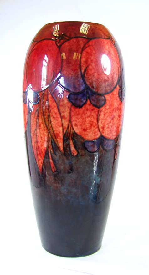 Moorcroft Stunning Flambé Wisteria Exhibition Vase -1932 - William