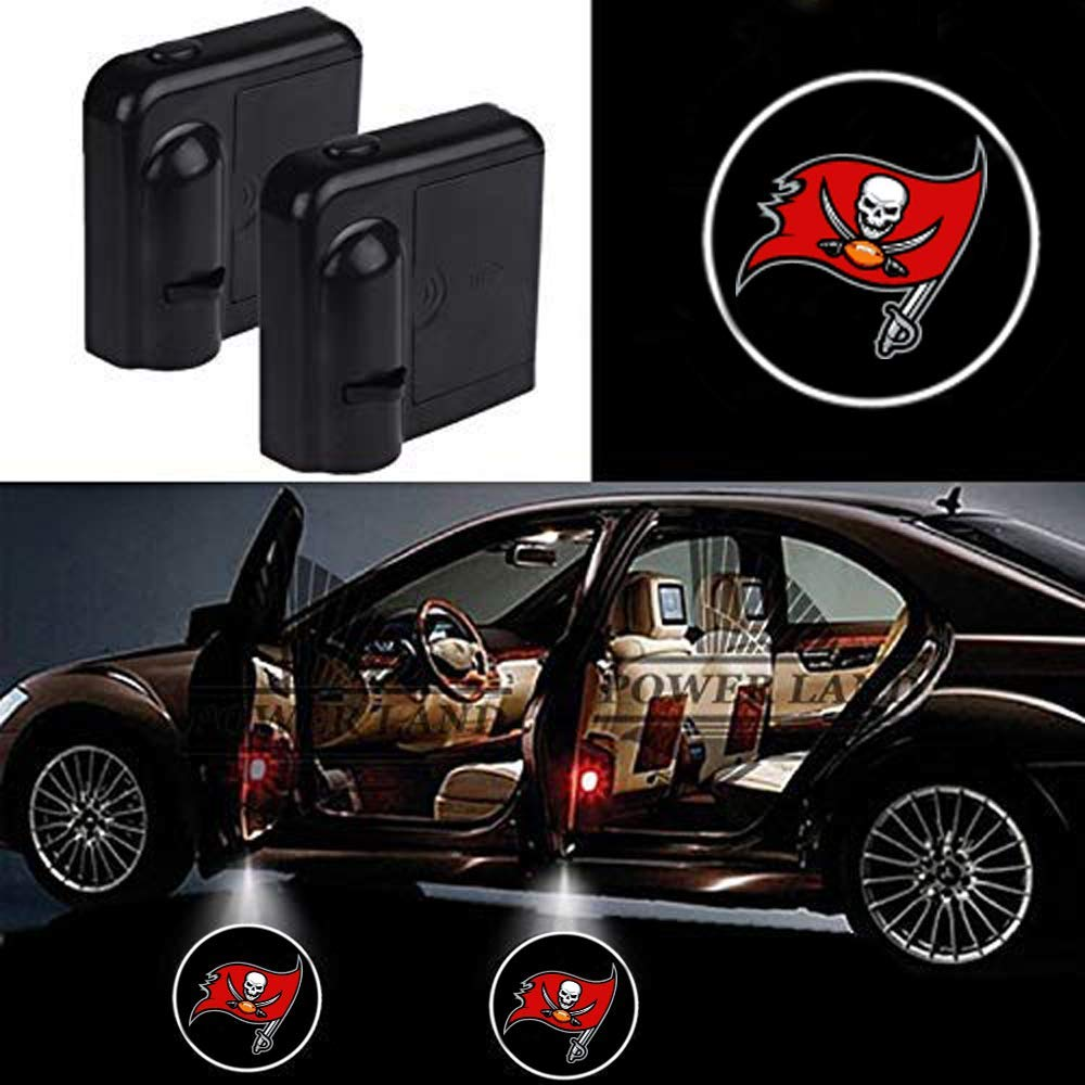 Fit Los Angeles Rams For Fit Los Angeles Rams Car Door Led Welcome Laser Projector Car Door Courtesy Light Suitable Fit for all brands of cars