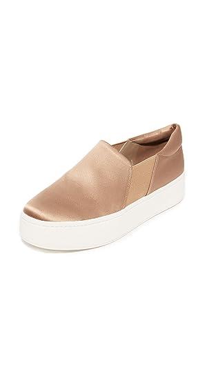 Vince Women's Warren Platform Sneakers, Fawn, 7.5 B(M) US