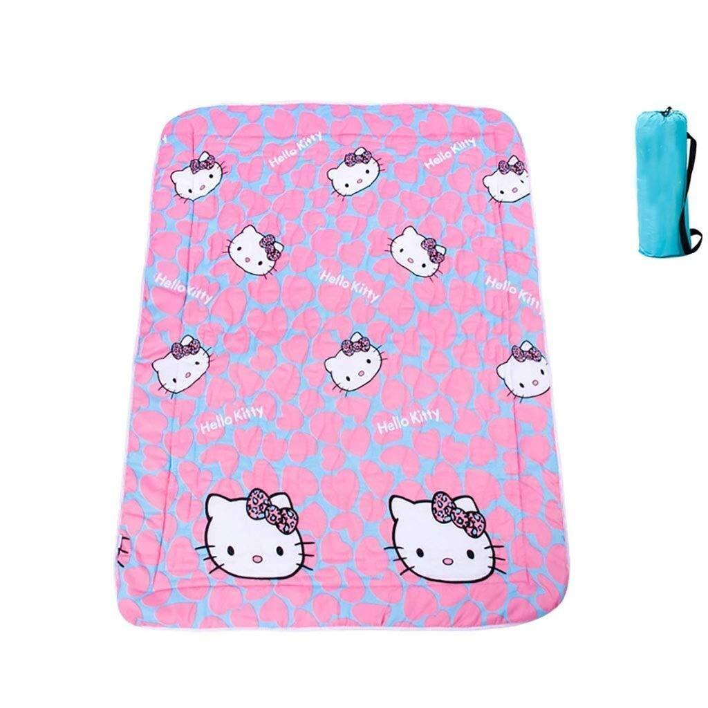 ZKKWLL Picnic Blanket Children's Picnic Blanket Cartoon Picnic mat can be Machine wash Cute Carpet mat Portable Picnic mat Waterproof Oxford Cloth Picnic mat (Color : B) by ZKKWLL