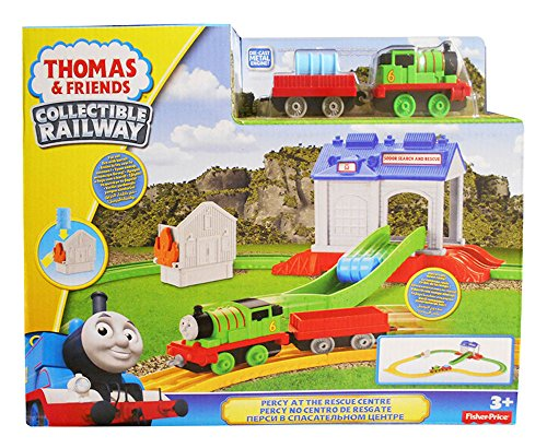 Thomas & Friends Collectible Railway Percy at the Rescue Center Train Set
