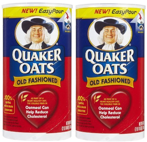 (Quaker Oats Old Fashioned - 42 oz - 2 pk by Quaker)