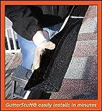 GutterStuff Original 4-Inch K Style Foam Gutter Filter Insert, 64-Feet