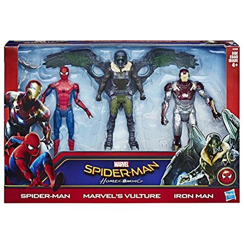 "Hasbro Spider-Man Action-Figures, 6"""