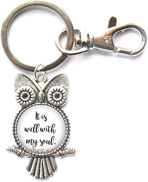 INSPIRED WORDS KEYRING FOR MY SOULMATE