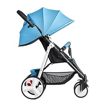 baby stroller Cochecito De Bebé Sentado Reclinable Simple Mini Cochecito De Bebé Plegable Cuatro Estaciones Portátil Bebé Niño Cochecito De Bebé,5: ...