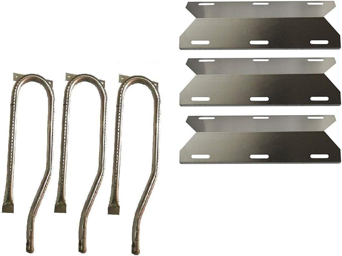 Parts Kit DG131 for Jenn Air Gas Grill 720-0336 Stainless Steel Burner+Stainless