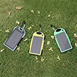 5000mAh Solar Battery Panel Dual USB Port