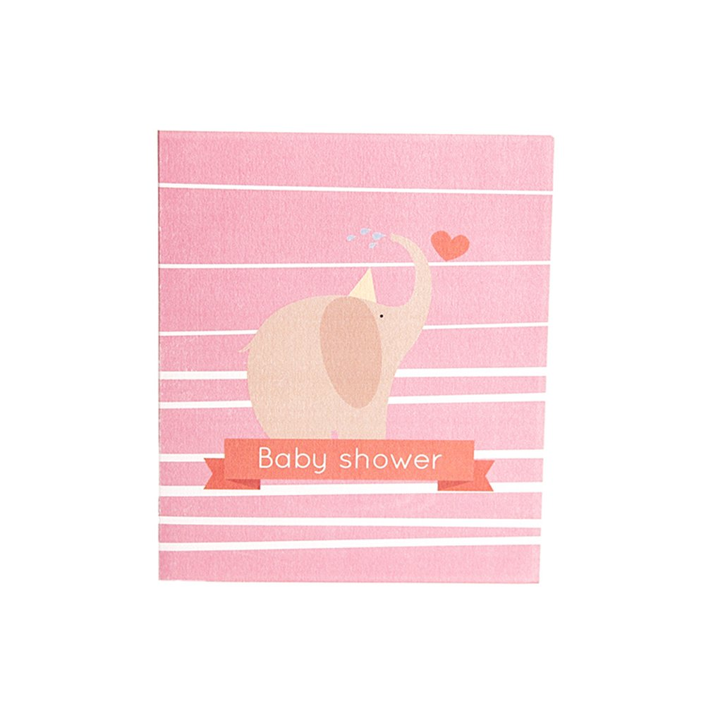 Papel spiritz bebé elefante Pop Up Baby Shower tarjeta de felicitación para niños niñas 3d bebé tarjetas de invitación tarjeta de embarazo regalo, ...