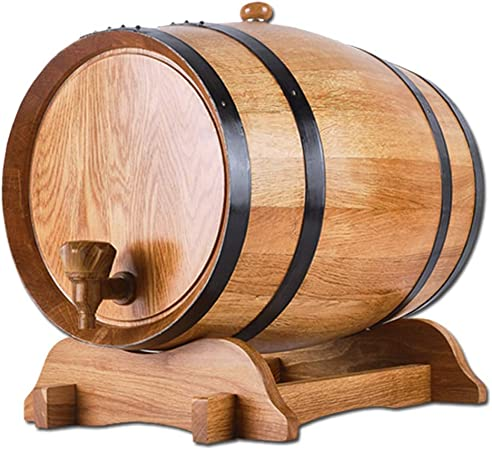 Wine Dispenser, Sin Barril De Vesícula Biliar Madera Carbonizada Antiséptico Vino Rojo Licor Barril De Madera Maciza For Barra Casera Autoayuda Tingting (Color : A, Size : 50L): Amazon.es: Hogar