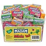 Maoam Minis Sours Fruit Chews 40 Pieces Per Tub