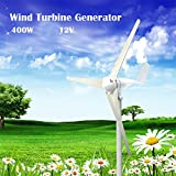 XIDAJIE 400W 3 Blade DC 12V Wind Turbine Generator With Waterproof Charge Controller
