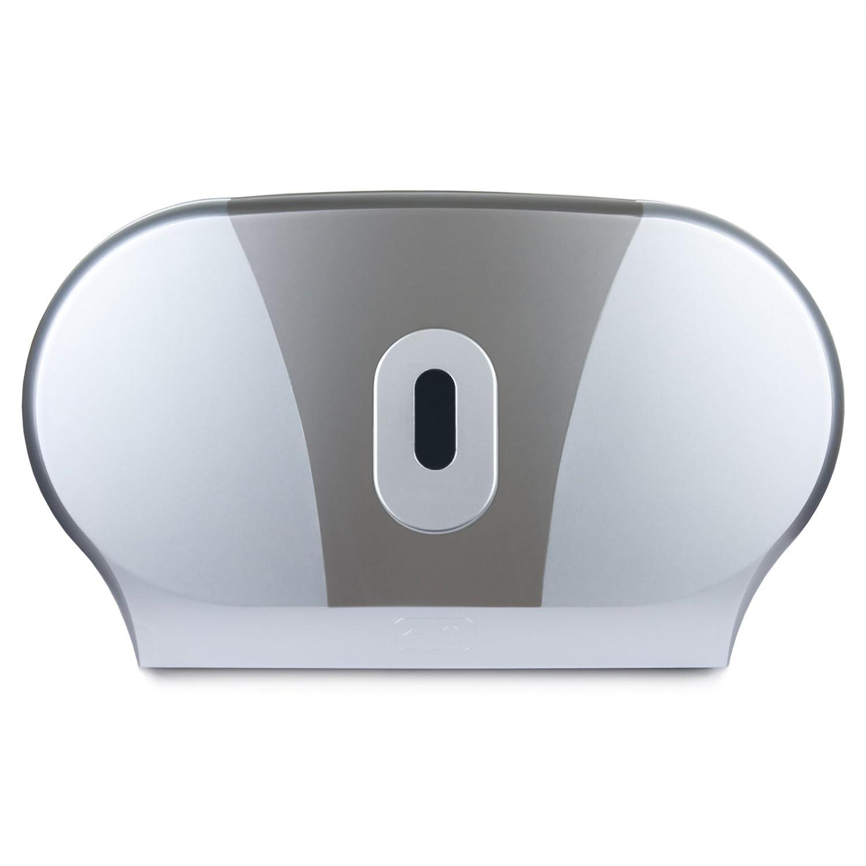 /Duo/ /Soporte para rollo de papel de ba/ño Ba/ño Hub doble Mini Jumbo/ /Dispensador de papel higi/énico/