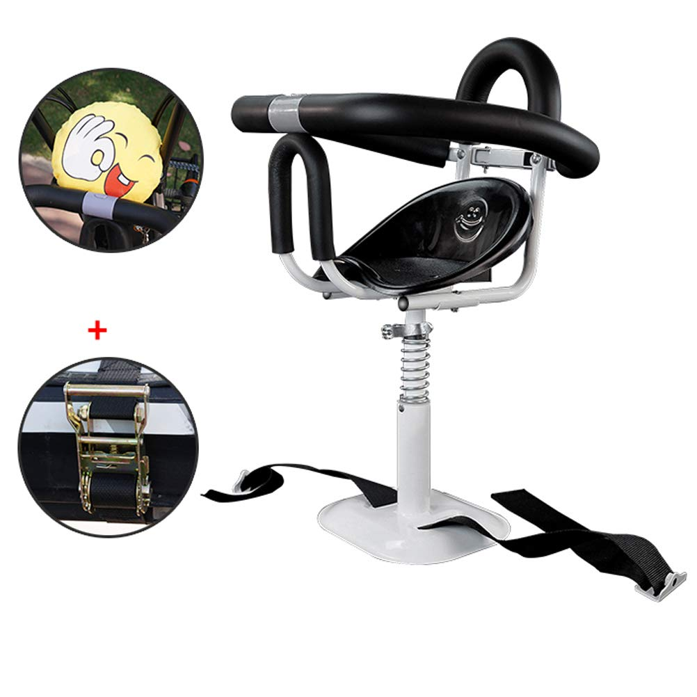 Zmmyr Electric Bicycle Child Safety Seat Pedal Motorcycle Scooter Can Lift Detachable Front Baby Kids Seats