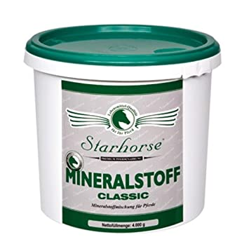 starhorse mineralstoff Classic mineralstoffmischung PARA CABALLOS 4kg Cubo