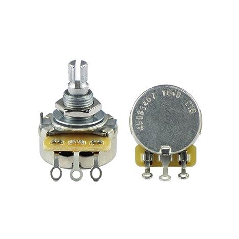 CTS - Potenciómetro de volumen o tono para guitarra eléctrica ...