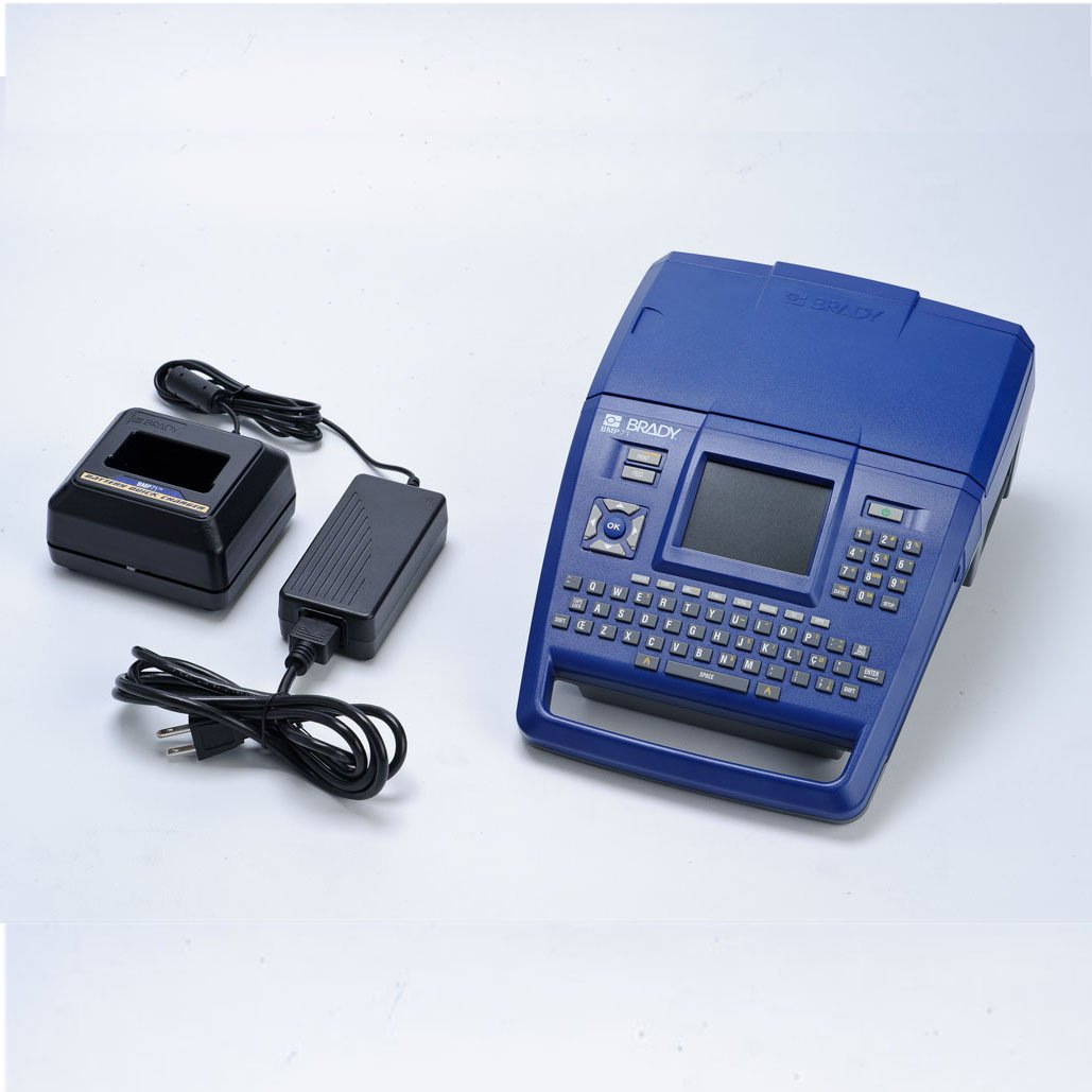 Brady BMP71 Label Printer With Quick Charger.