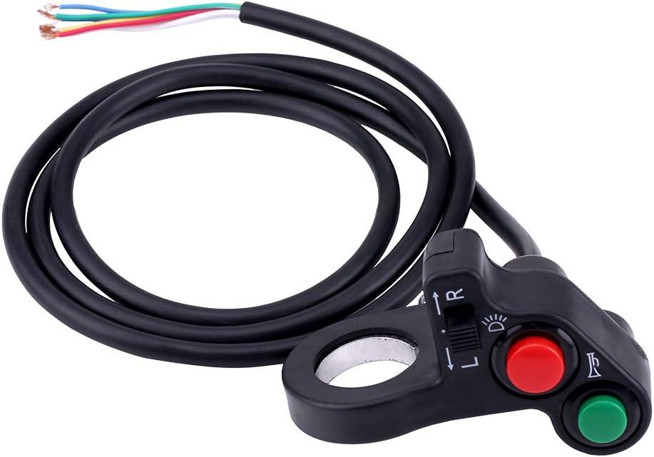 7//8 Zoll 22 mm motorrad lenkerschalter wasserdichte motorradscheinwerfer blinker horn ein//aus-schalter