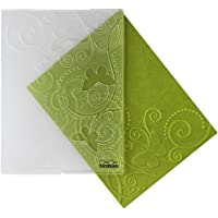 """Bira Craft 4.25"""" x 5.75"""" Embossing Folder, Assorted Designs Butterfly and Vine"""